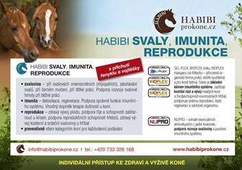 HABIBI Speciální směs - SVALY,IMUNITA,REPRO.2,25 Kg - 30 dní