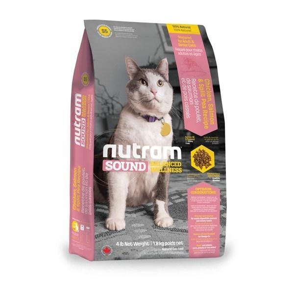 S5 Nutram Sound Adult/Senior Cat 6,8 Kg