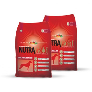DVOJBALENÍ Nutra Gold Holistic Lamb&Rice Adult Dog 15 Kg
