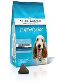 Arden Grange Puppy/Junior: rich in fresh chicken 24 kg ( 2 x 12 Kg )