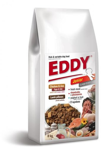 Eddy Junior Large breed 8 Kg
