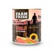 Farm Fresh – Turkey with Carrot 400 g