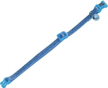 Nobby třpytivý obojek pro kočky modrý 1 ks