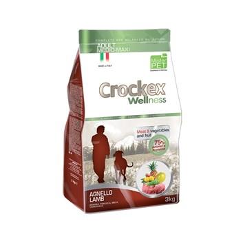 Crockex Adult jehněčí s rýží 12 Kg