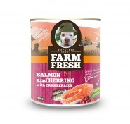 Farm Fresh salmon&herring with peas&cranberries 750 g 5+1 zdarma