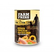 Farm Fresh – Chicken & Salmon with Potatoes 400 g