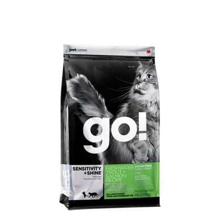 GO! Sensitive Shine Grain Free CAT Trout and Salmon 7,25 Kg
