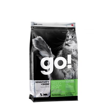 GO! Sensitive Shine Grain Free CAT Trout and Salmon 7,25 Kg