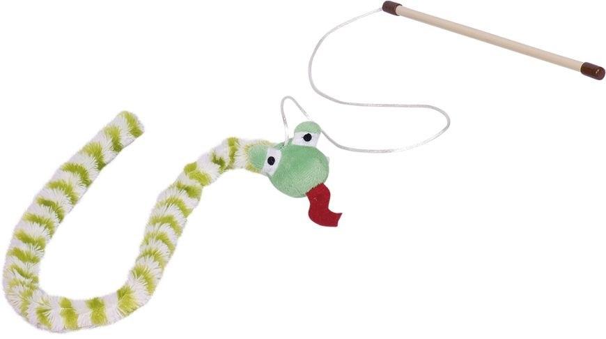 Nobby hračka pro kočky udice had zelený 118 cm