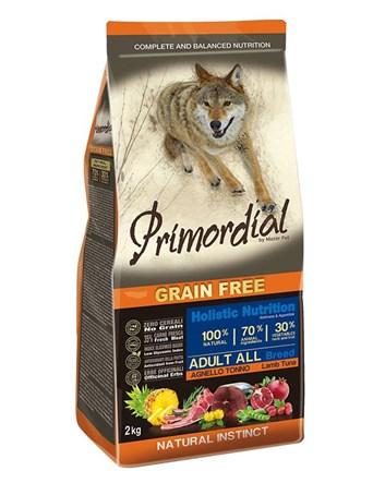 Primordial JEHNĚČÍ & TUŇÁK pro dospělé psy 12kg
