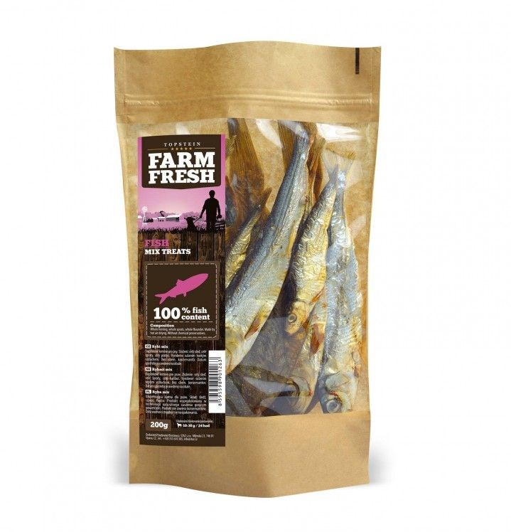 Farm Fresh fish mix treats  200 g