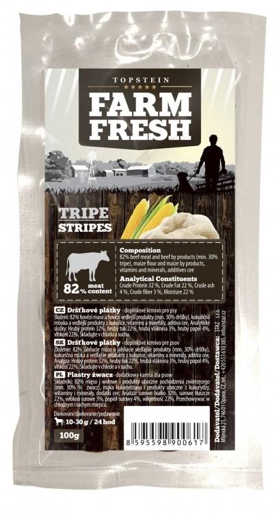 Farm Fresh Tripe Stripes 100 g