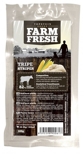 Farm Fresh Tripe Stripes 100 g