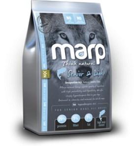 Marp Natural Senior and Light - s bílou rybou 12 Kg + konzerva ZDARMA