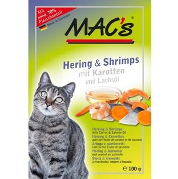 Kaps. MACs Cat SLEĎ a KREVETY 100 g