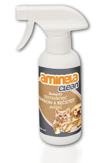 Aminela Clean Ekologický odstraňovač zápachu pelíšků 250 ml