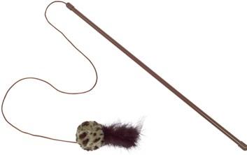 Nobby hračka pro kočky udice s chrastícím míčkem