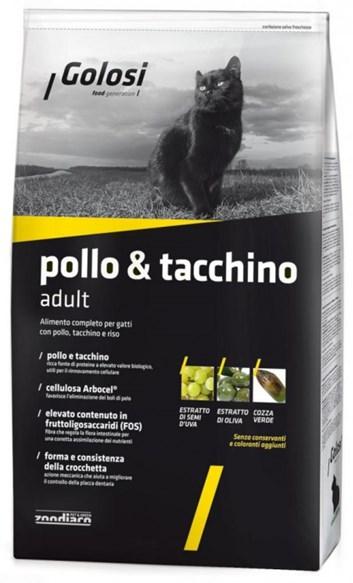 Golosi Cat Pollo e Tacchino (Kuře a krůta) 1,5 Kg