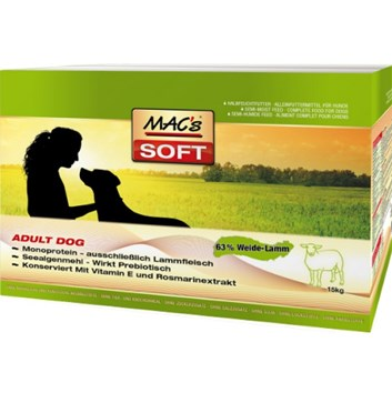 "SOFT MACs Dog MINI JEHNĚ  ""to go"" 230 g"