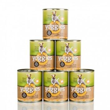 Yoggies krůtí konzerva 5+1 zdarma ( 6 x 800 g )