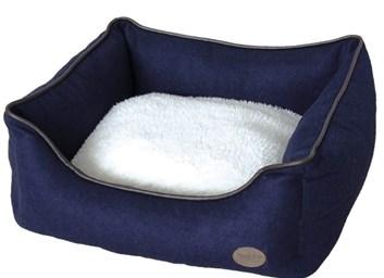 Nobby CARAN plstěný pelíšek modrý 45x40x18 cm