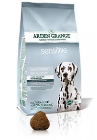 Arden Grange Sensitive: Ocean White Fish and Potato  2 Kg