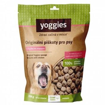Yoggies bezlepkové piškoty s kuřecím masem 150 g