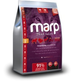 Marp Holistic Red Mix Grain Free 12 Kg + konzerva ZDARMA