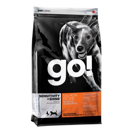 GO! Sensitive + Shine Salmon 2,72 Kg