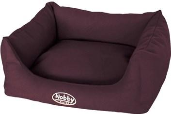 Nobby TIRA bavlněný pelíšek tmavě hnědý 45x40x18 cm