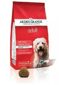 Arden Grange Adult: with fresh chicken & rice  ( 2 x 12 Kg )