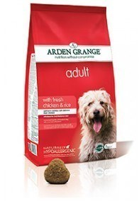 Arden Grange Adult: with fresh chicken & rice  24 Kg ( 2 x 12 Kg )
