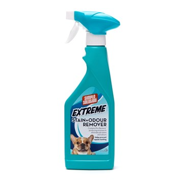 SIMPLE SOLUTION EXTREME Enzymatický odstraňovač zápachu a nečistot pro psy 945 ml