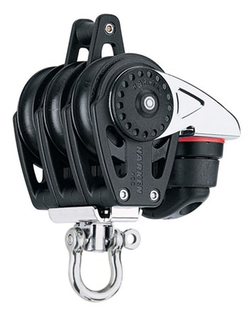 Harken 40mm Carbo Triple/swivel/Carbo-Cam