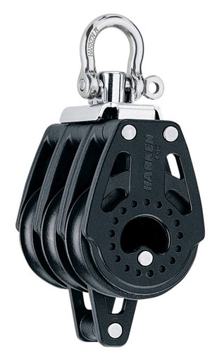 Harken 40mm Carbo Triple/swivel/becket