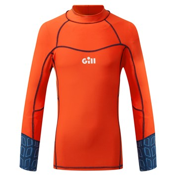 Gill Pro Rash Long Sleeve Junior