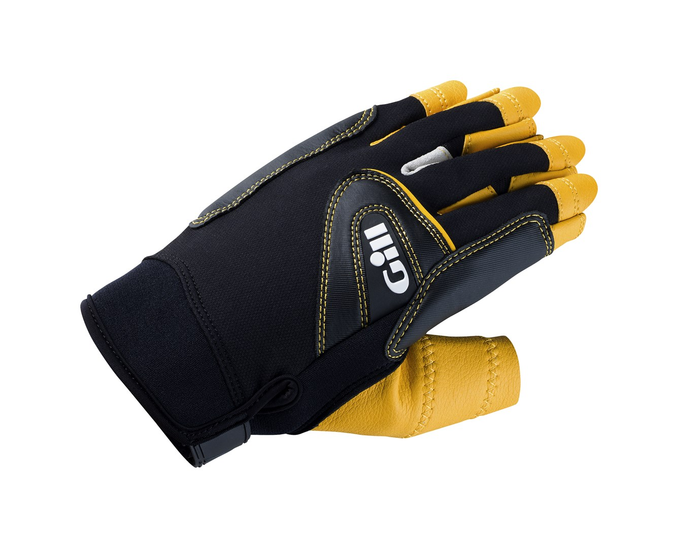 7442_Pro Gloves_Short Finger_Black_1.jpg
