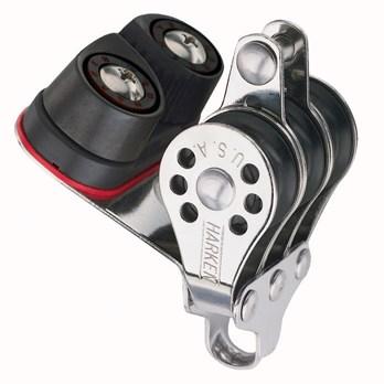 Harken 22mm Classic Micro Triple/423 Carbo-Cam/bec