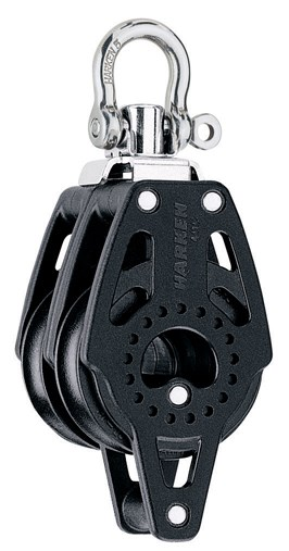 Harken 40mm Carbo Double/swivel/becket