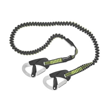 Spinlock 2 Clip Race Elasticated Safety Line