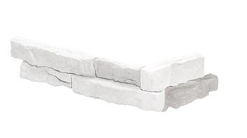 SIERRA 1 WHITE - betonový obklad rohový