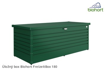 Biohort Úložný box FreizeitBox 180, tmavě zelená
