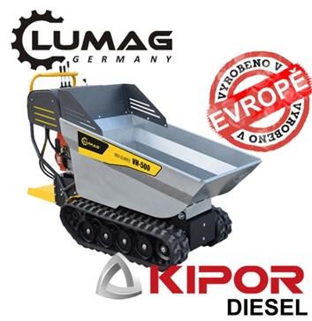 Profi minidumper Lumag VH500 D KAMA diesel motor