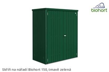 Biohort Skříň na nářadí 150, tmavě zelená