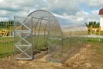 Polykarbonátový skleník Dvushka 4m ( 4 x 2 m ) - Volya LLC