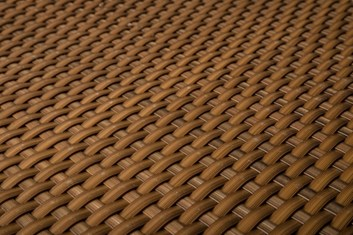 Ratan v metráži - medová, výška 100 cm