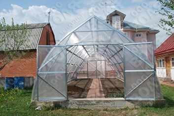 Farmářský profesionální skleník FARMER 21,0 x 5,0 - Volya LLC