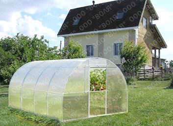 Polykarbonátový skleník Betta 2m ( 3 x 2 m ) - Volya LLC