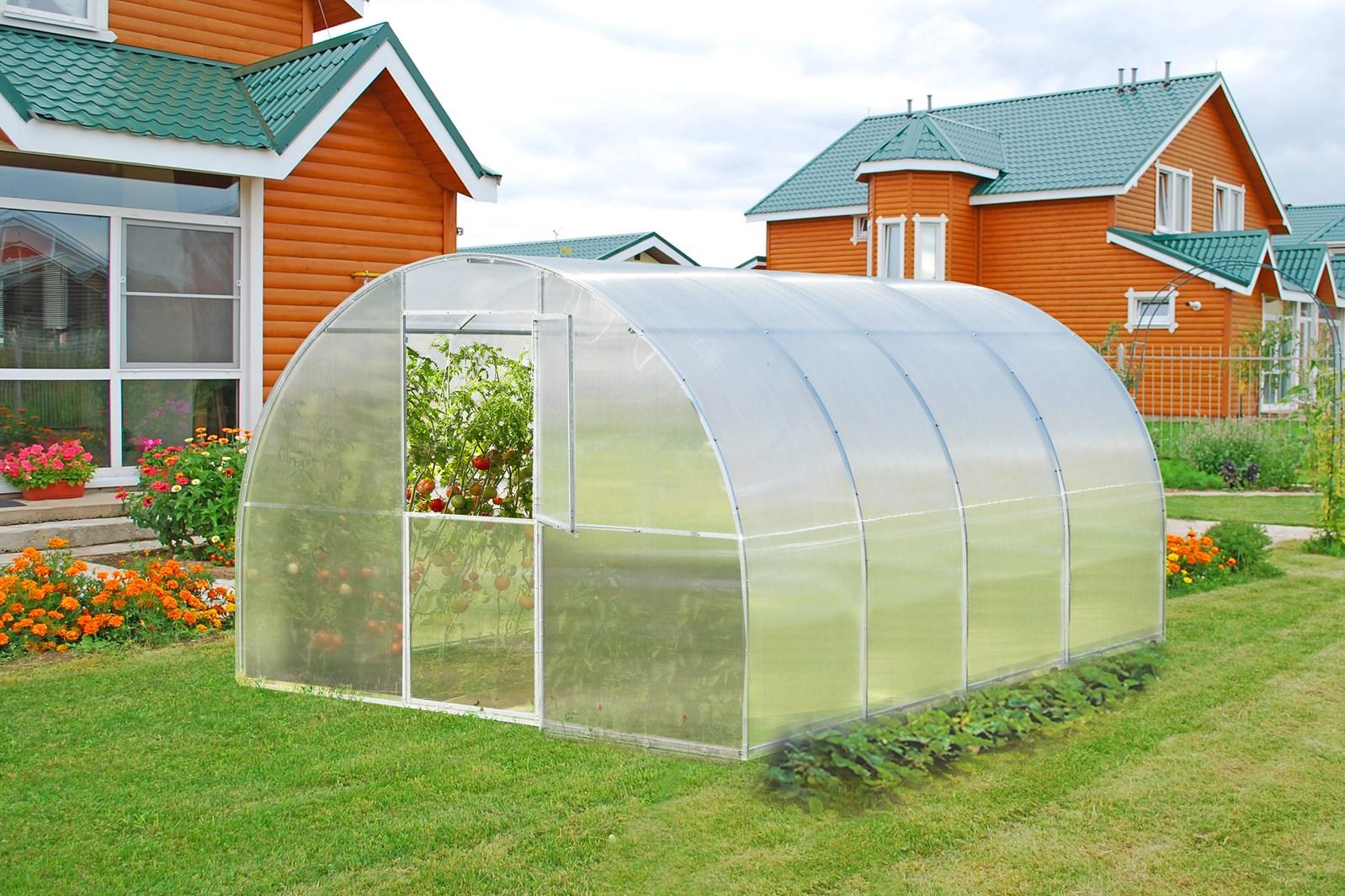 Polykarbonátový skleník ALFA 6m ( 3 x 6 m ) - Volya LLC