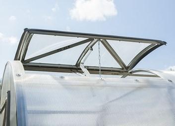 Přídavné větrací okno pro skleník DVUSHKA - Volya LLC